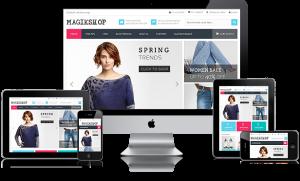 Diseño Tiendas Online Responsivas