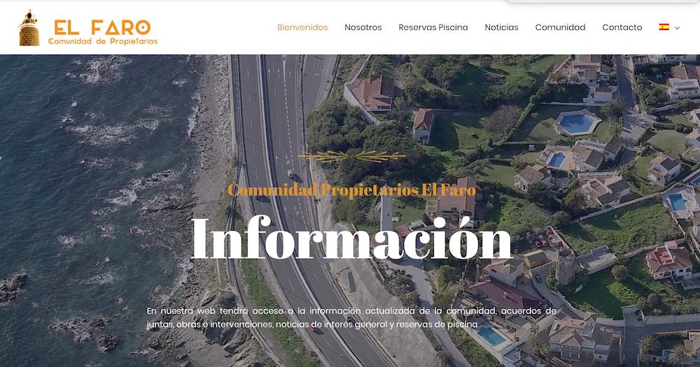 Web Comunidad el Faro