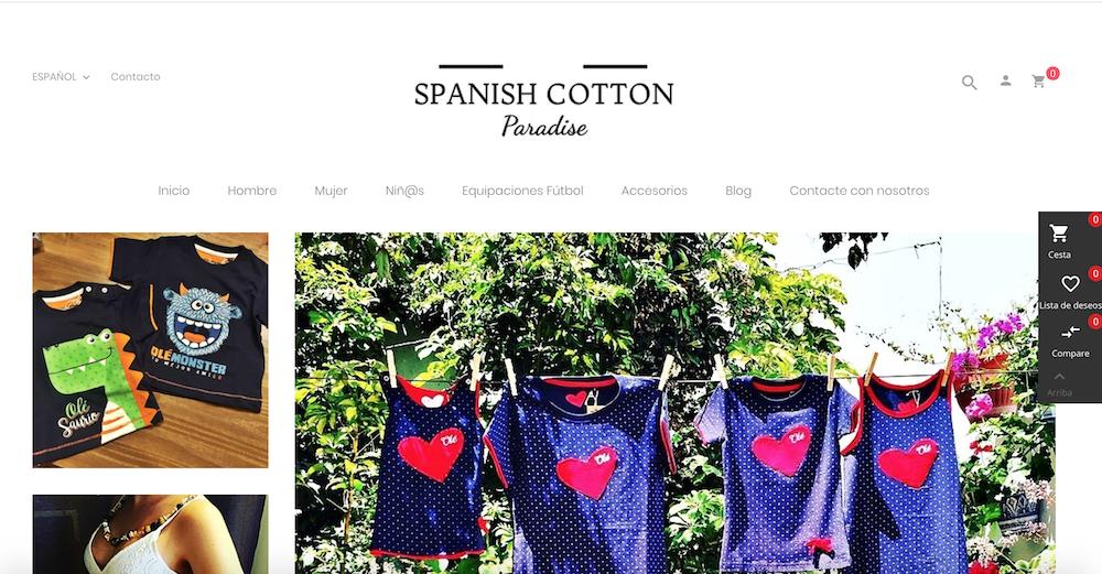 Spanish Cotton Paradise
